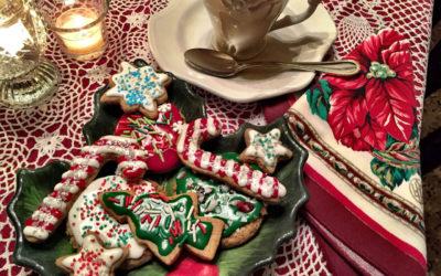 Gingered Christmas Sprinkle Cookies
