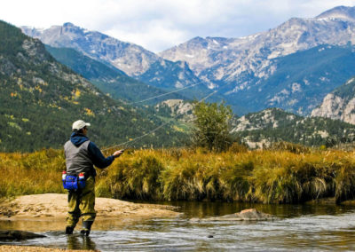 Fly Fisher Rocky Mountain National Park - Bed & breakfasts & inns of Colorado Association