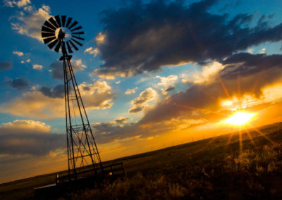 Prairie Sun Sets Over North Eastern Plains - Bed & breakfasts & inns of Colorado Association