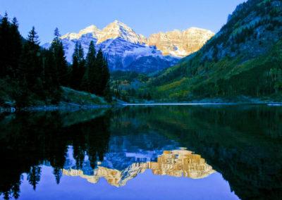 Maroon Bells Are Reflected - Bed & breakfasts & inns of Colorado Association